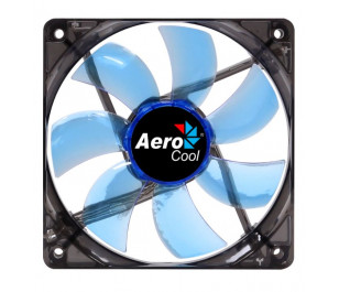 """Aerocool """"Lightning"""" 12cm Mavi Ledli Sessiz Kasa Fanı"""
