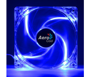 Aerocool 12cm PWM 4Pin Mavi Led Fan
