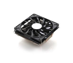 Akasa Nero LX2 Intel 775/115X/1366/2011 ve AMD AM2/AM3+/FM1/FM2 İçin Yüksek Performanslı Low Profile İşlemci Soğutucusu