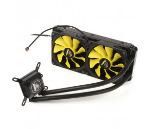 Akasa Venom A20 Intel LGA 775/115X/1366/2011 ve AMD/AM2+/AM3/AM3+/FM1/FM2 240mm Radyatör Sıvı Soğutma Sistemi
