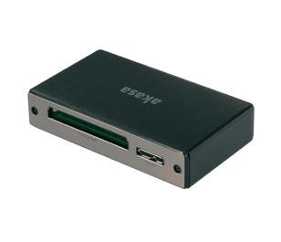 Akasa Alüminyum USB 3.0  Kart Okuyucu