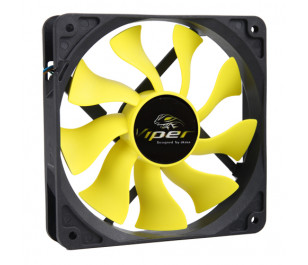 "AKASA ""Viper"" 12cm S-Flow Yüksek Performanslı Sessiz Fan"