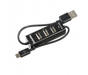Dark Connect Master U23 Micro 3 Port  USB 2.0 Usb Hub