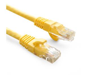 Dark 2m Cat6 CU AWG24/7 UTP Sarı Patch Network Kablosu