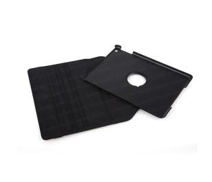 Dark iPad Air (5) Uyumlu 360 Dönebilen Kılıf / Ajanda (Siyah)