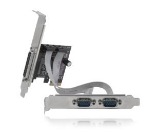 Dark PCI-Express 1x Paralel Port, 2x RS232 Seri Port PCI-Express Kart