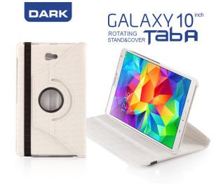 """Dark Samsung Tab A 10.1"""" Beyaz Kılıf"""