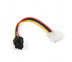 Dark Molex 4Pin-6Pin PCI-EX Dönüştürücü Güç Kablosu
