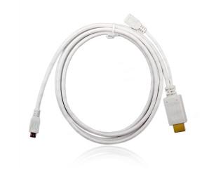 Dark 1.8m MHL 5Pin MicroUSB-HDMI Dönüştürücü (microUSB Erkek -HDMI Dişi)
