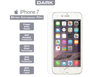Dark iPhone 7 Yansıma Engelleyici Ekran Filmi