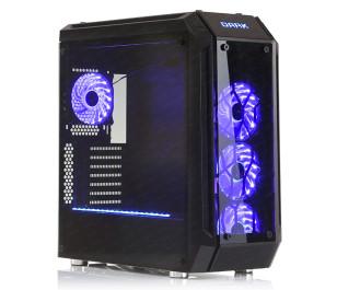 DARK SuperNOVA USB 3.0, 4x 12cm RGB Fan, Uzaktan Kumandalı, Pencereli ATX Kasa