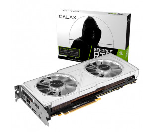 GALAX GeForce® RTX 2080 OC White Dual Fan 8GB GDDR6 256-Bit 3x DP1.4, HDMI 2.0b, USB Type-C PCI-Express Ekran Kartı