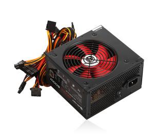 High Power Eco 500W 85+ Bronze 38A Single Rail Aktif PFC Siyah ATX Güç Kaynağı