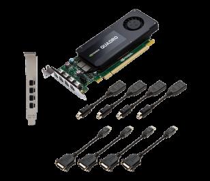 PNY Quadro K1200 4GB 128Bit DDR5 Profesyonel Ekran Kartı (VCQK1200DVI-PB)