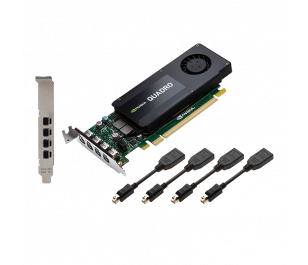 PNY Quadro K1200 4GB 128Bit DDR5 Profesyonel Ekran Kartı (VCQK1200DP-PB)