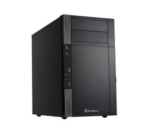 SilverStone Precision PS07 600W 2xFanlı 2xUSB Alüminyum Micro-ATX  Kasa