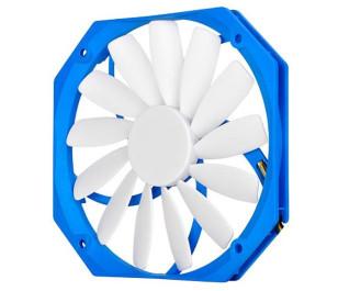 SilverStone FW141 13mm Ultra İnce 14cm Mavi-Beyaz Kasa Fanı