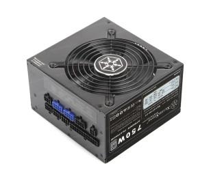 SilverStone Strider Platinum 80Plus Platinum Sertifikalı 750W Tam Modüler Güç Kaynağı (Tek 12V Kanal, 62,5A Akım)