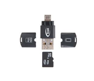 Team M141 MicroSD - MicroUSB / USB 2.0 Dönüştürücü