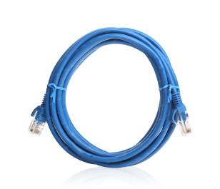 TX 3M Cat5E CCA Solid UTP Mavi Network Kablosu