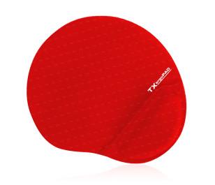 TX ErgoPad Plus Bilek Jel Destekli Kırmızı Mousepad (250x220x5mm)