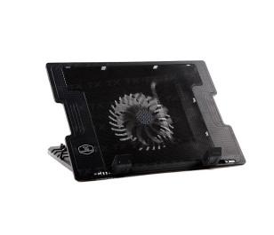 """TX ErgoStand 14cm LED FAN'lı 5 x Yükseklik Ayarlı, 2 x USB 9""""-17"""" Notebook Soğutucu ve Stand"""