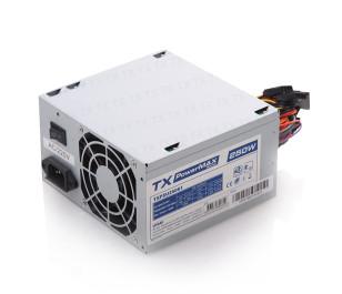 TX PowerMAX 250W 2xSATA, 2xIDE Bilgisayar Güç Kaynağı