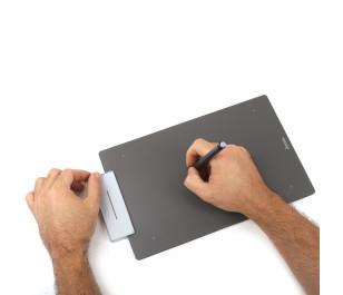 UC Logic Artisul Sketchpad Medium A5+ Wide UCAP906 Grafik Tablet Metalik Gri