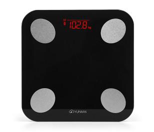 Yunmai Balance M1690 Vücut Analizli Bluetooth Akıllı Tartı - Siyah