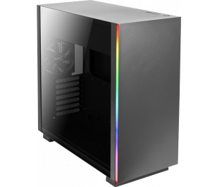 Aerocool Glo RGB Tempered Glass ATX Siyah Oyuncu Kasası