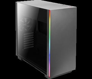 Aerocool Glo RGB Tempered Glass 750W 80+ Gold ATX Siyah Oyuncu Kasası
