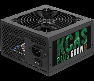 Aerocool KCAS PLUS 600W 80Plus Bronze Sertifikalı 50A Single Rail Güç Kaynağı