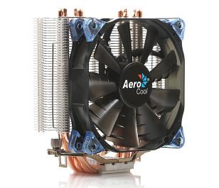 Aerocool Verkho4 Intel LGA1156/155/1151/1150/775/2011/2066 AMD FM2/FM1/AM4/AM3+/AM3/AM2+/AM2 12cm Fan İşlemci Soğutucu