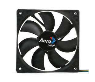Aerocool 12cm PWM 4Pin Siyah Fan