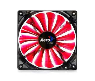 Aerocool Shark Serisi 14cm Kırmızı LED'li Sessiz Kasa Fanı