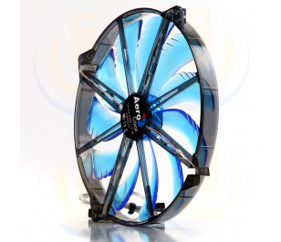 Aerocool Silent MASTER Serisi 20cm Mavi LED'li Sessiz Kasa Fanı