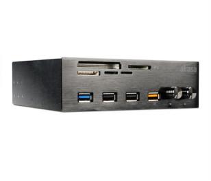 Akasa Inter Connect EF 2 x USB 2.0, 1 x USB 3.0, Hızlı Şarj Portu 2 x Fan Kontrolcü USB 3.0 Kart Okuyucu Ön Panel