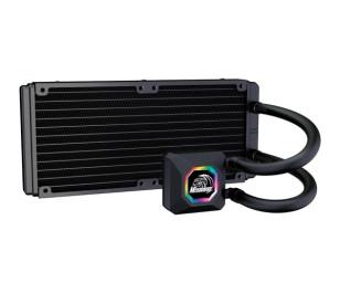 Akasa Venom R20 Intel LGA 775/115X/1366/2011/2066 ve AMD/AM2+/AM3/AM3+/AM4/FM1/FM2 240mm Radyatör RGB Sıvı Soğutma Sistemi