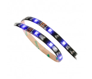 Akasa Vegas Mavi LED 60cm Silikonlu Yapışkanlı Işık Bandı