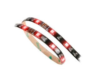 Akasa Vegas Kırmızı LED 60cm Silikonlu Yapışkanlı Işık Bandı