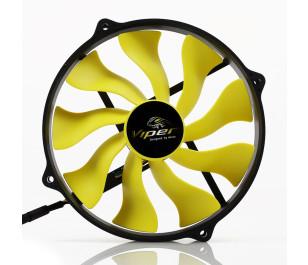 """AKASA """"Viper R"""" 12cm Yuva için 14cm S-Flow Yüksek Performanslı Sessiz Fan"""