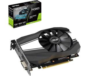 Asus GeForce GTX1660TI Phoenix OC 6GB 192Bit GDDR6 Ekran Kartı (PH-GTX1660TI-O6G)