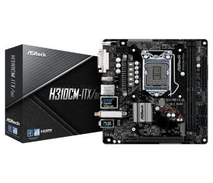 ASRock H310CM-ITX/AC, 1x PCIeX16 (Gen3), 2x DDR4 Ram Slotu 2666MHz, Wireless 802.11ac, Intel H310 Çipset, Soket LGA1151, Intel 8-9..Nesil İşlemci Desteği, Mini-ITX Anakart