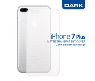 Dark iPhone 7 Plus 0,3mm Ultra İnce Mat Kılıf