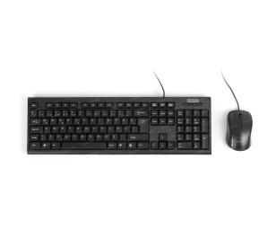Dark Karbon Desenli Türkçe Q Klavye & Mouse Set