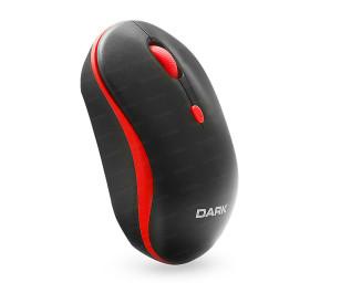 Dark MSW100R Wireless Notebook Mouse - Kırmızı/Siyah