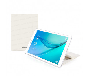 """Dark Samsung T550 9.7"""" Tab A Beyaz Kılıf"""