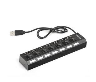 Dark Connect Master U72, 7 Port Anahtarlı USB Hub