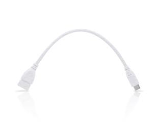 Dark USB3.1 Type C USB3.1 Erkek, USB2.0 Dişi OTG Kablo Beyaz