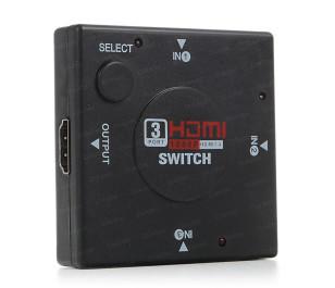 Dark Full HD 3 Giriş 1 Çıkışlı HDMI Switch (Seçici)